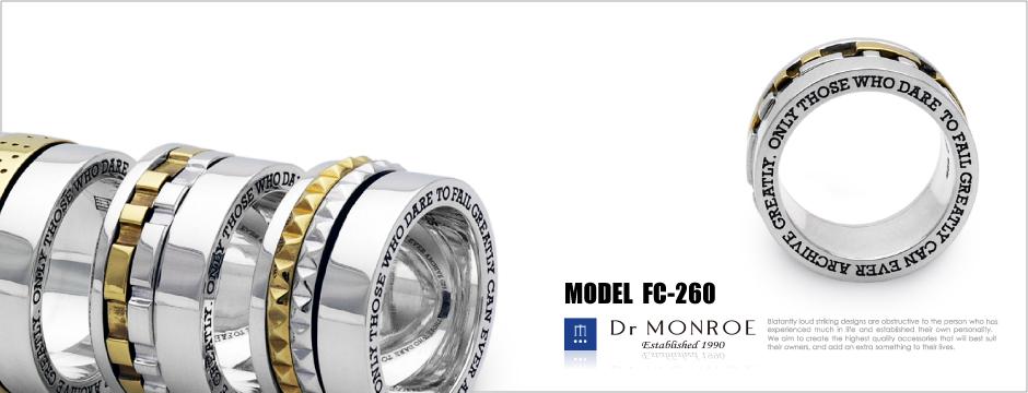 top-FC-260ドクターモンローのギアブロックリング