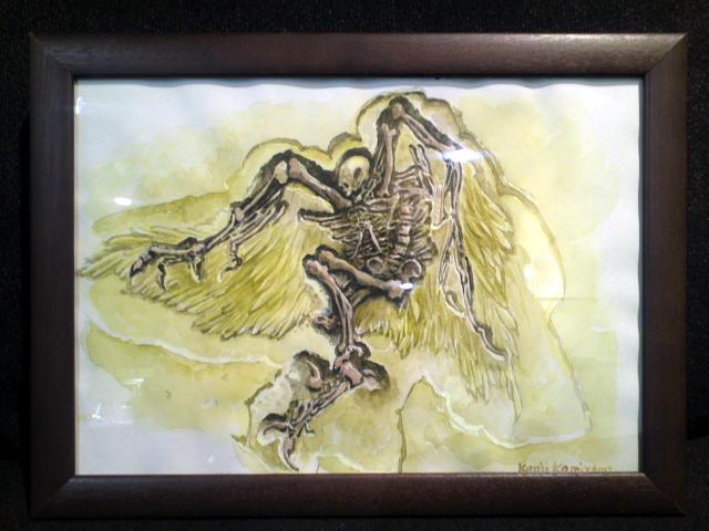 天使の化石の原画