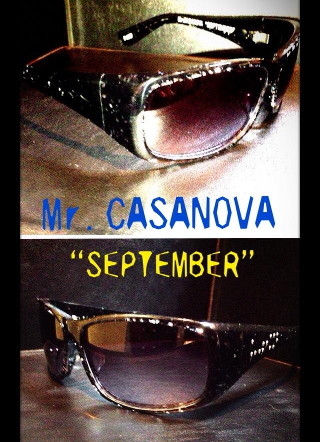 CASANOVAのサングラス
