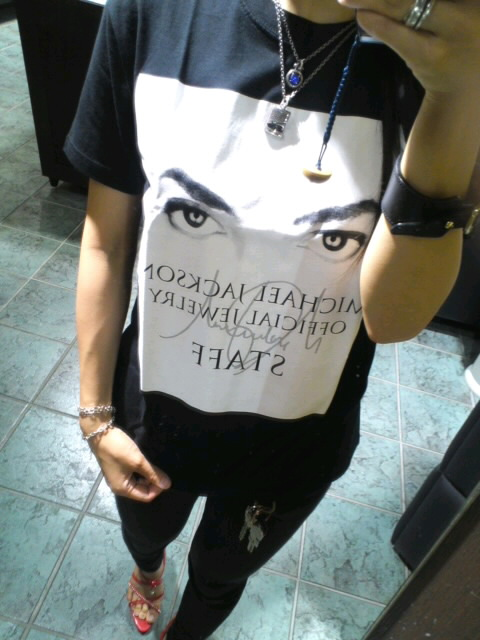 マイケルジャクソンTシャツ