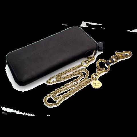 SND-036-SET真鍮のウォレットチェーン