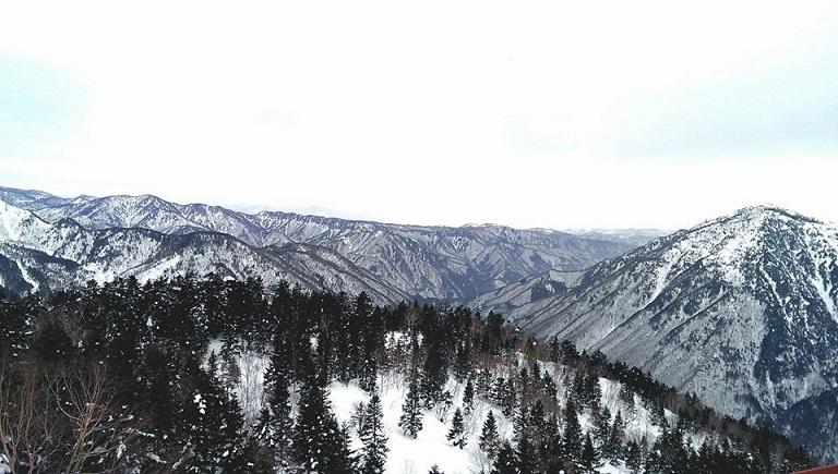 雪の奥飛騨温泉旅行