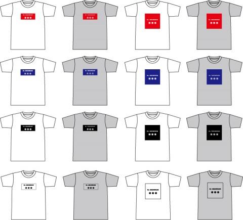 Tシャツ全カラー2