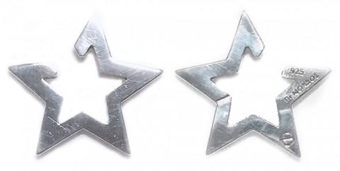 ドクターモンローの星のイヤーカフIMG_7497