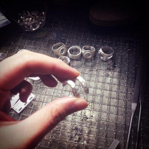 スネークリングの製作
