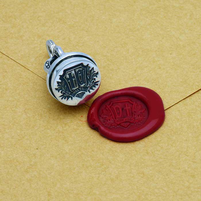 シーリングスタンプのネックレス