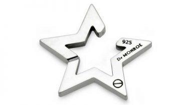 星のイヤカフのEC-13-SV