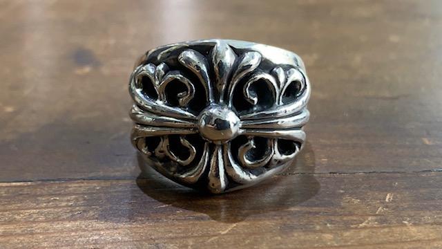 クロムハーツの指輪の変形直しの修理後