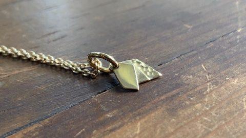 k18ゴールドのメンズネックレス