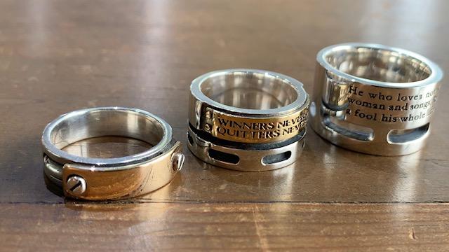 ムコ殿2003で使われた指輪
