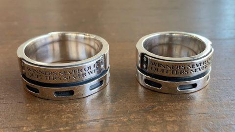 30号以上のメンズのドクターモンローの指輪