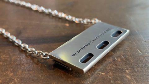 メンズプレートネックレスのカスタム