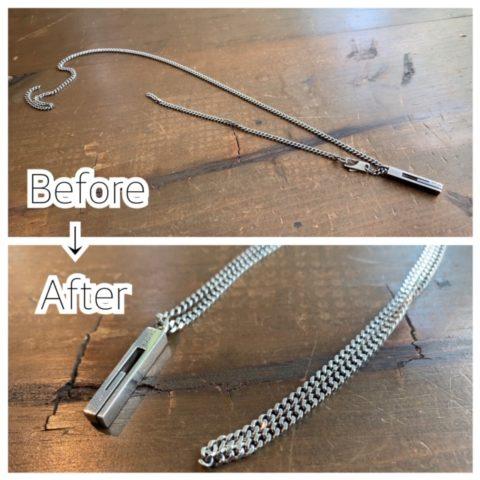 グッチのネックレス修理
