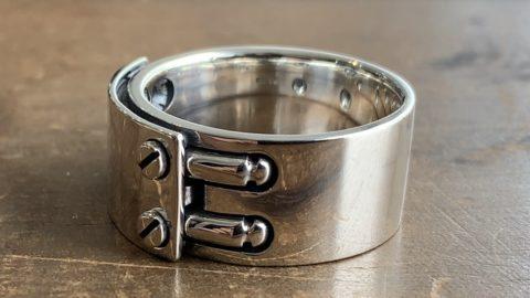 指輪の重曹の汚れ落としの失敗をリペア