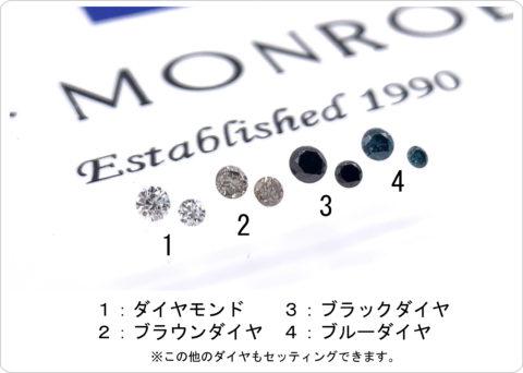 ダイヤモンドの種類