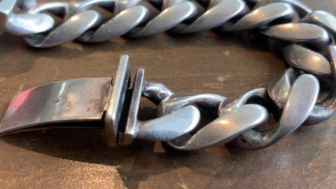スタンリーゲスのウッドブレスレットのコマ増し修理