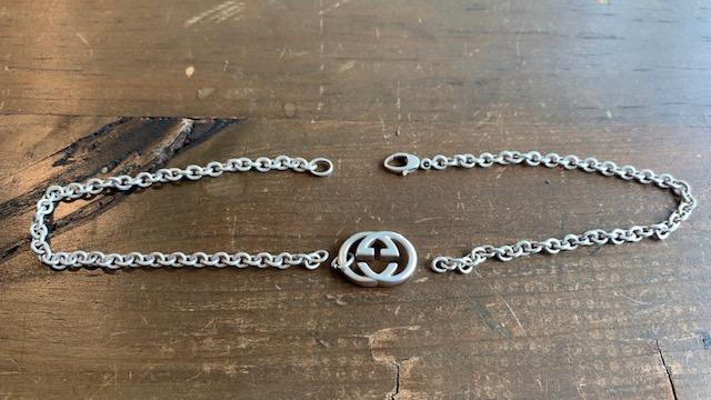 グッチのネックレスのチェーン修理