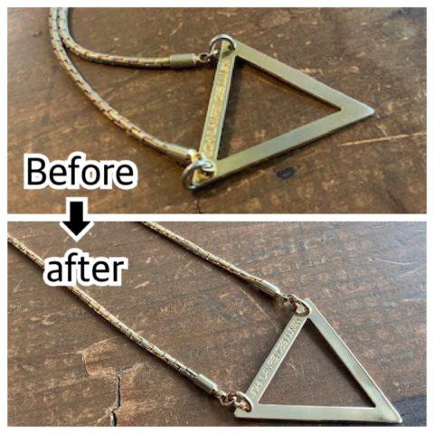 john lawrence sullivan ネックレスのメッキ修理