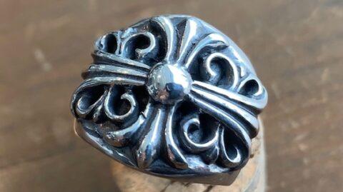 クロムハーツの指輪のサイズ直し