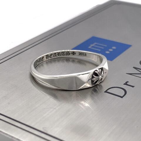 クロムハーツの指輪のアフターダイヤモンドカスタム前