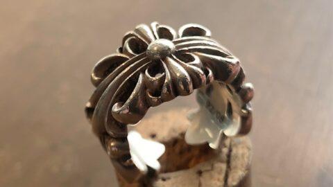 クロムハーツの指輪のリペア前