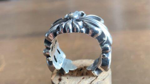 クロムハーツの指輪のリペア後