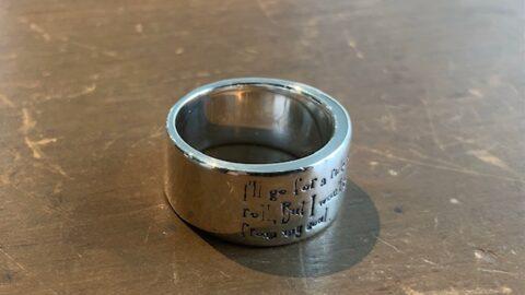 指輪のサイズ直し後