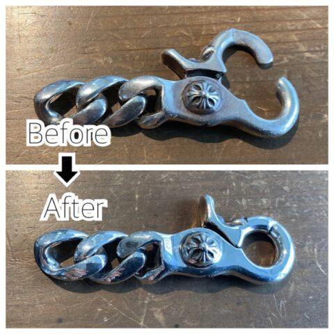 クロムハーツのクリップのバネ修理