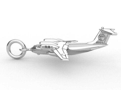 オーダーメイドネックレス、航空機の飛鳥航空機